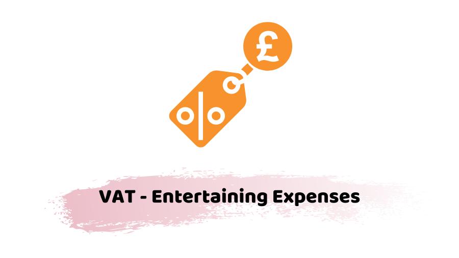 VAT - Entertaining Expenses