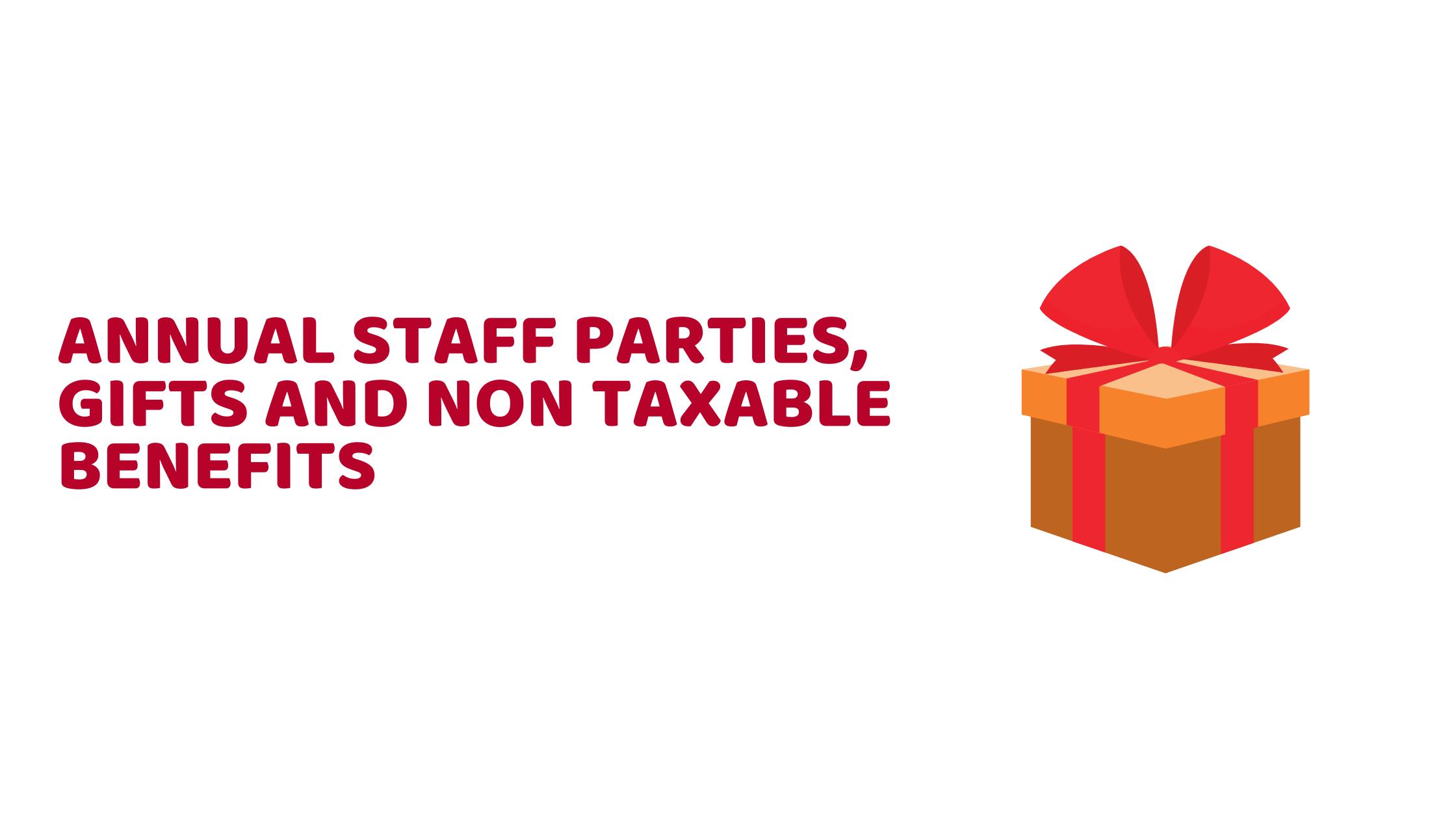 non taxable benefits