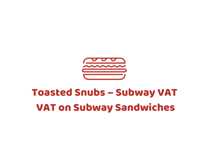 vat on subway sandwiches