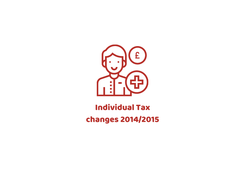 Individual Tax changes 2014/2015