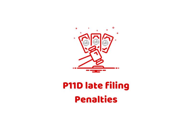 P11D late filing Penalties