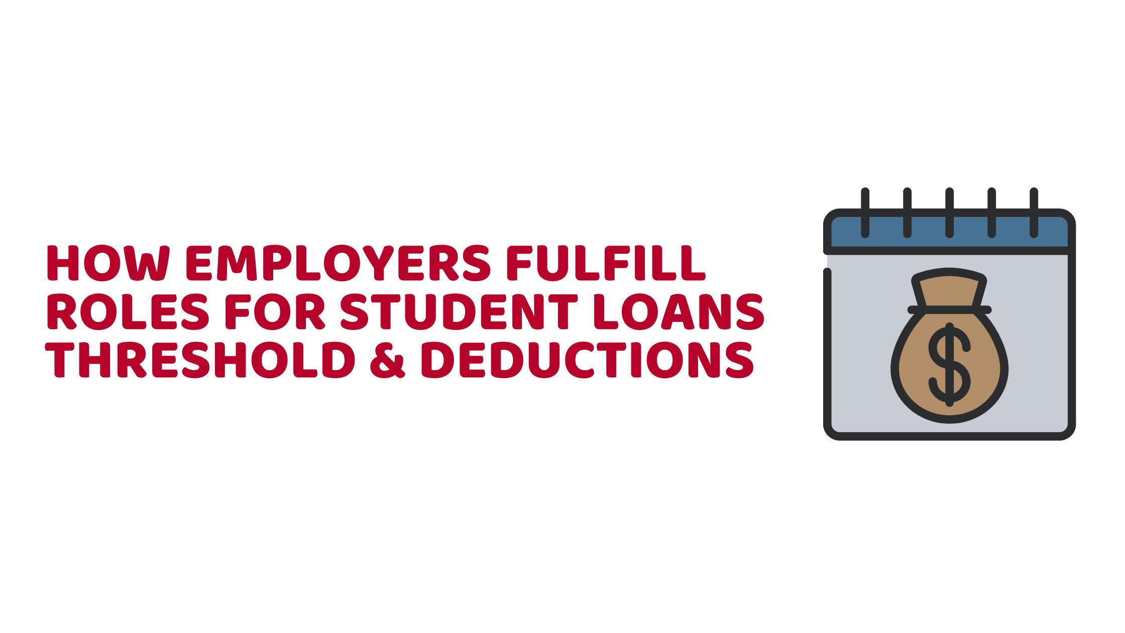 Student Loans Threshold