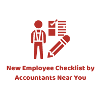 New Employee Checklist by Accountants Near You