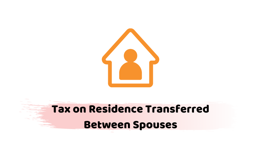 residence transferred between spouses
