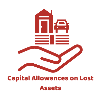 Capital Allowances on Lost Assets