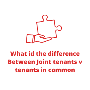 What id the difference Between Joint tenants v tenants in common