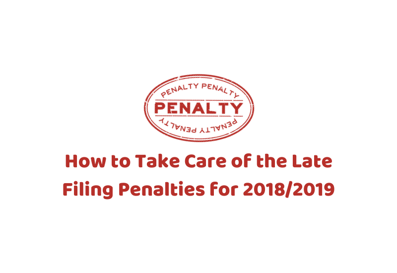 Late Filing Penalties for 2018/2019