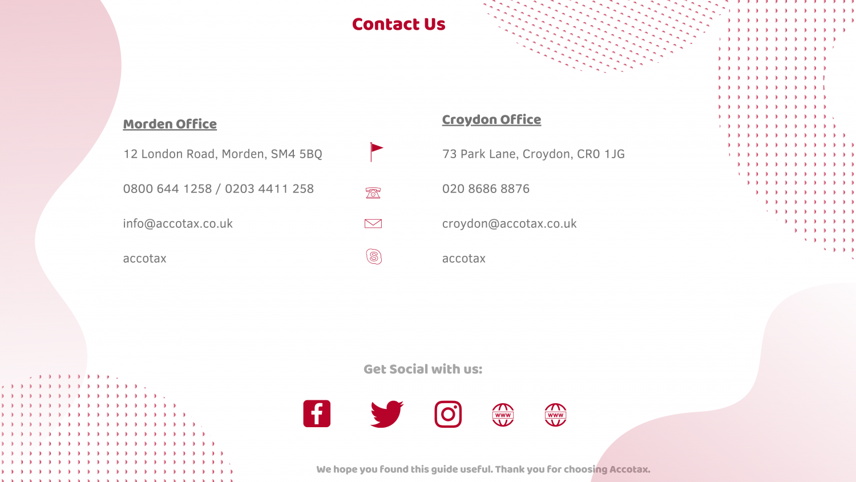 Accotax Contact us