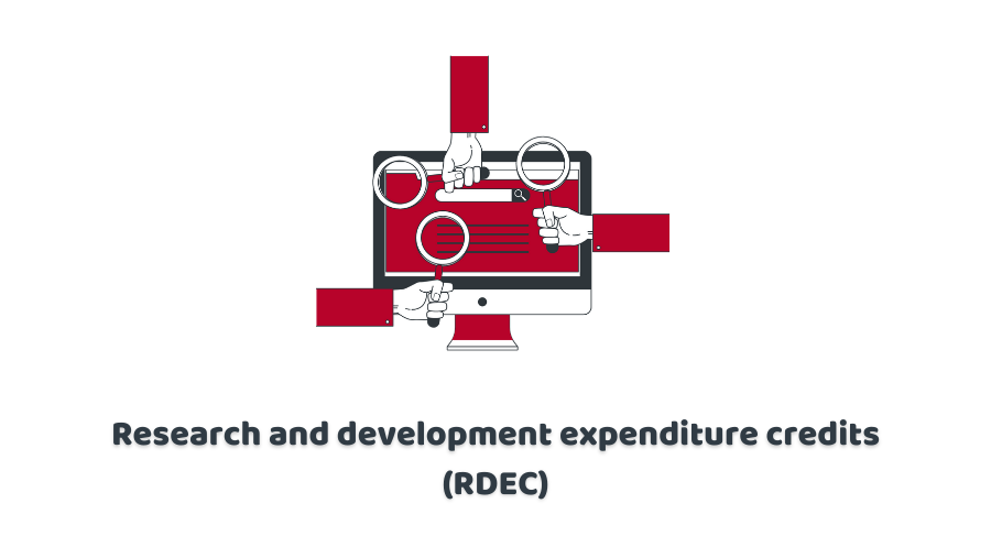 Research and development expenditure credits (RDEC)
