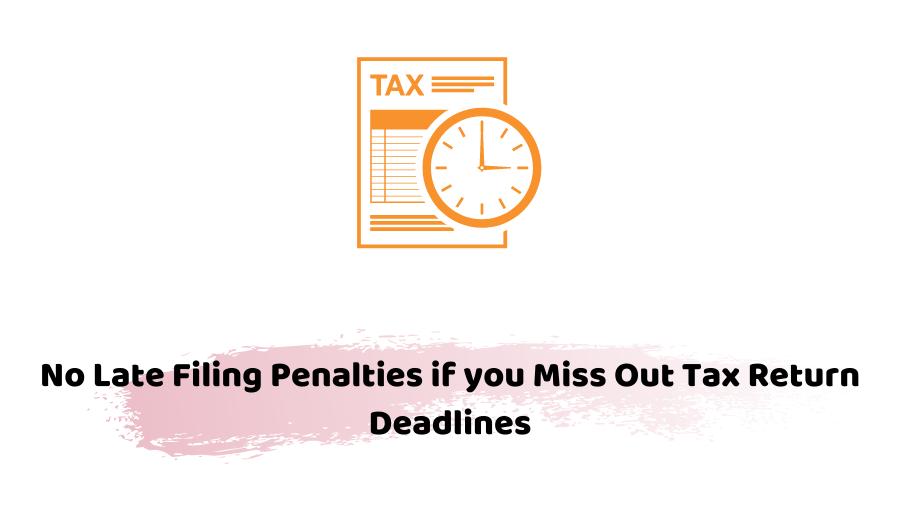 Tax Return Deadlines
