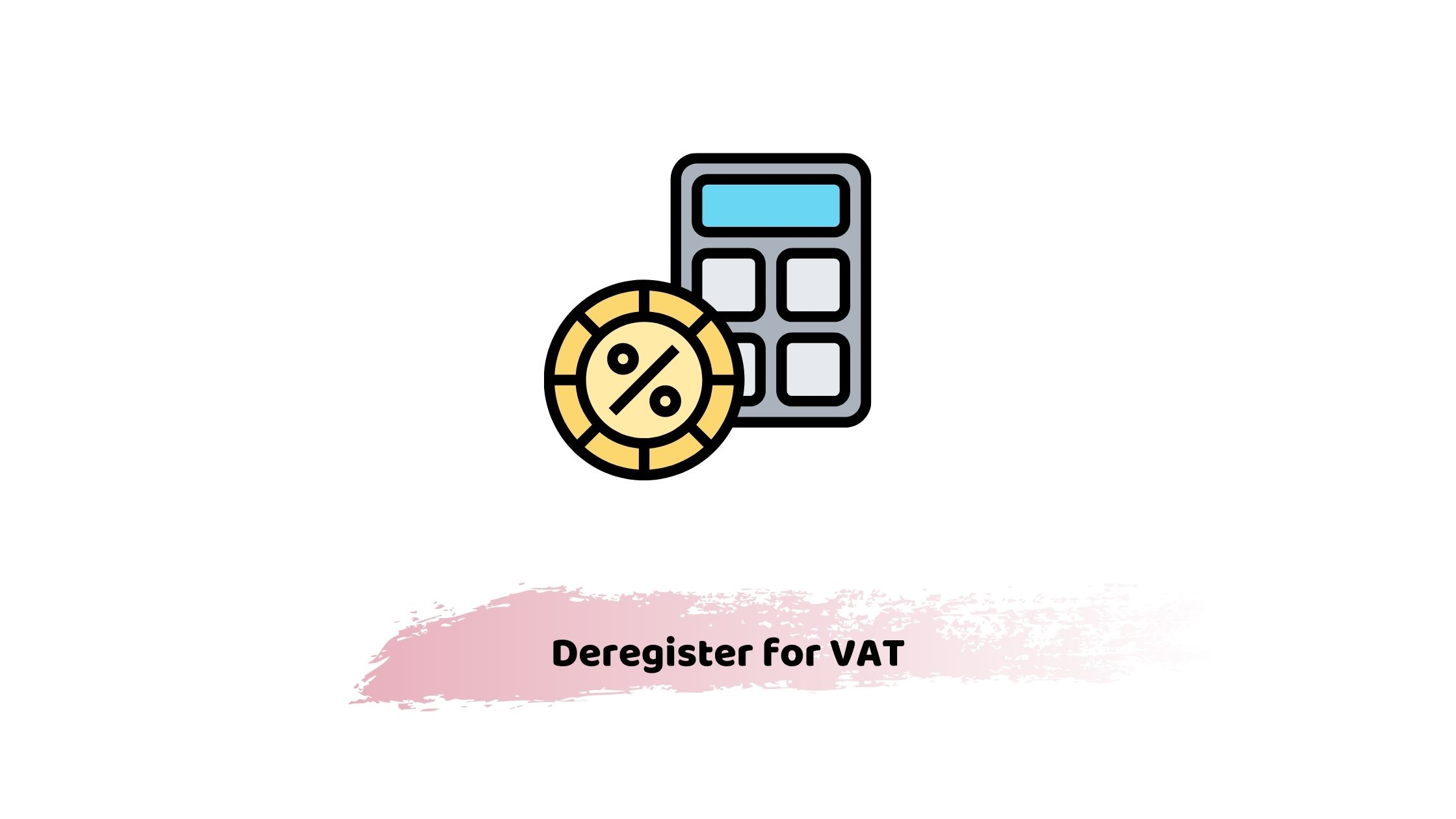 how to deregister for vat