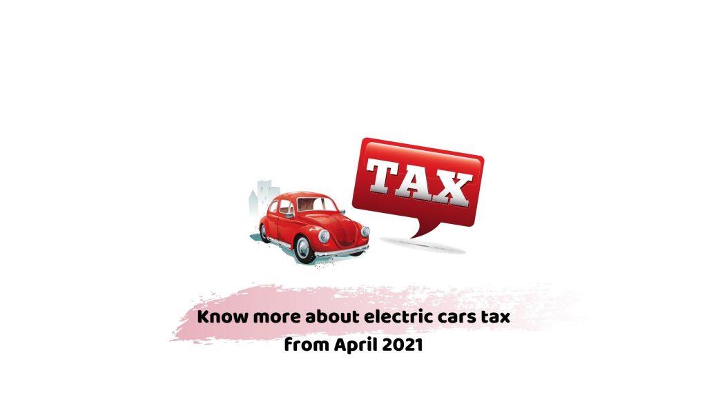 Electric car tax