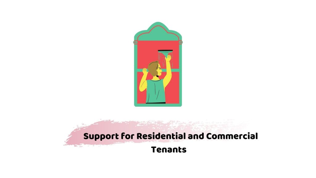 Residential and commercial tenants