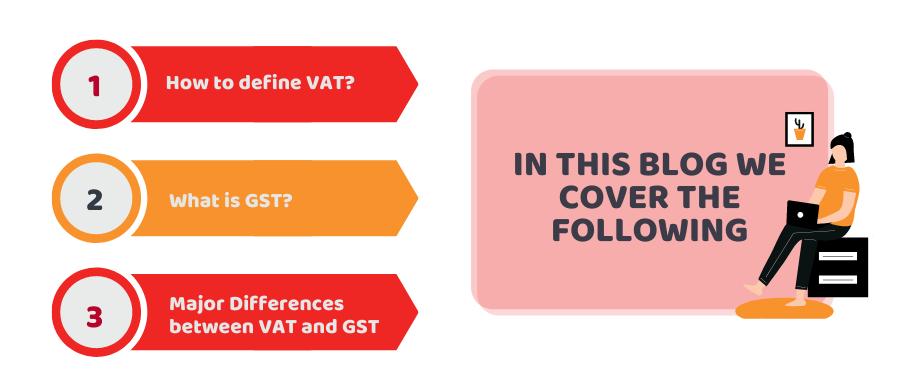 GST vs VAT Tax
