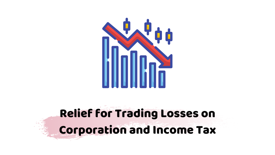 Trading loss an corporation and income tax