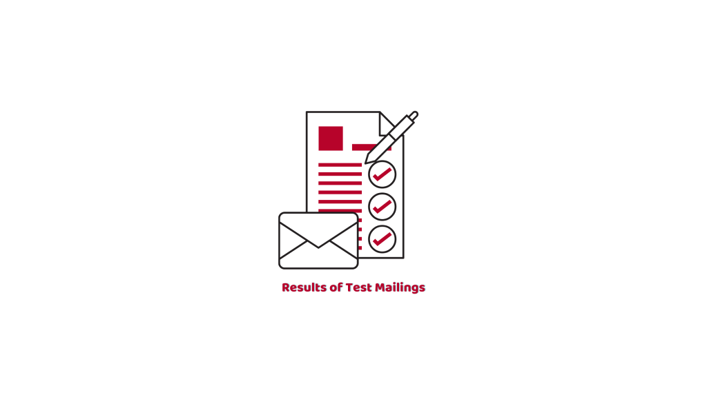 Results of Test Mails
